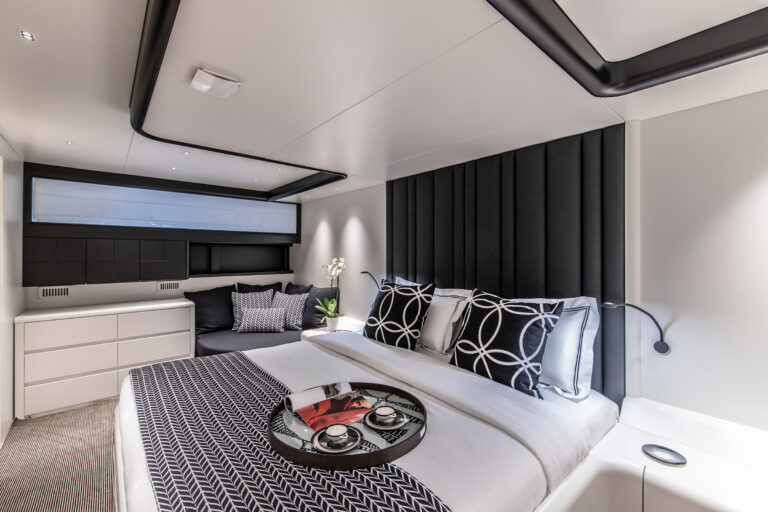 Luxury Motor Yacht PROJECT STEEL Master Suite