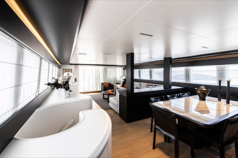 Luxury Motor Yacht PROJECT STEEL Living spaces