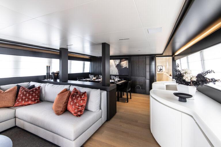 Luxury Motor Yacht PROJECT STEEL Lounge