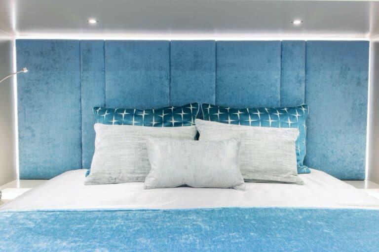 Luxury Catamaran SAMA bed