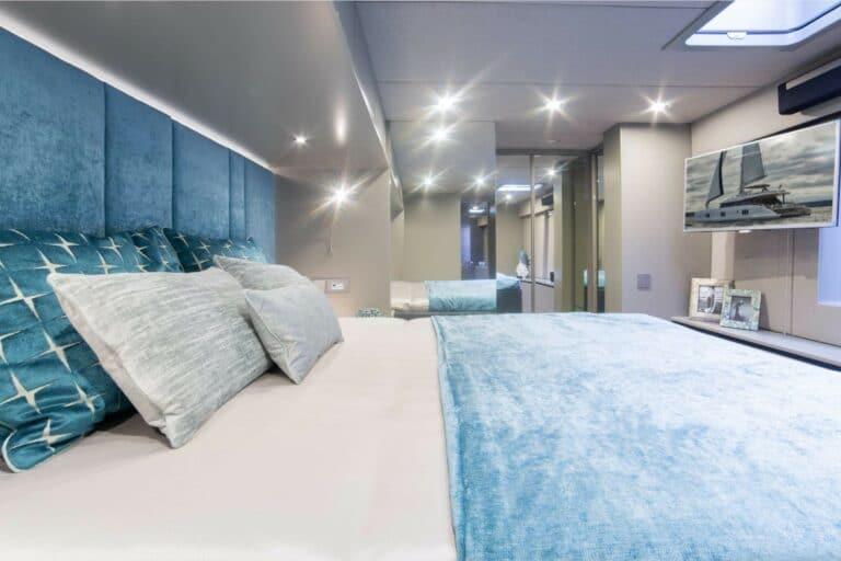 Luxury Catamaran SAMA Master Cabin