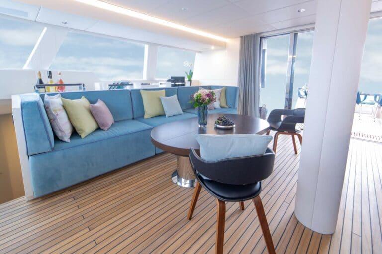 Luxury Catamaran SAMA Lounge