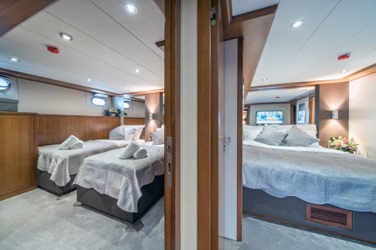 Luxury Motor Yacht SAN LIMI twin cabin
