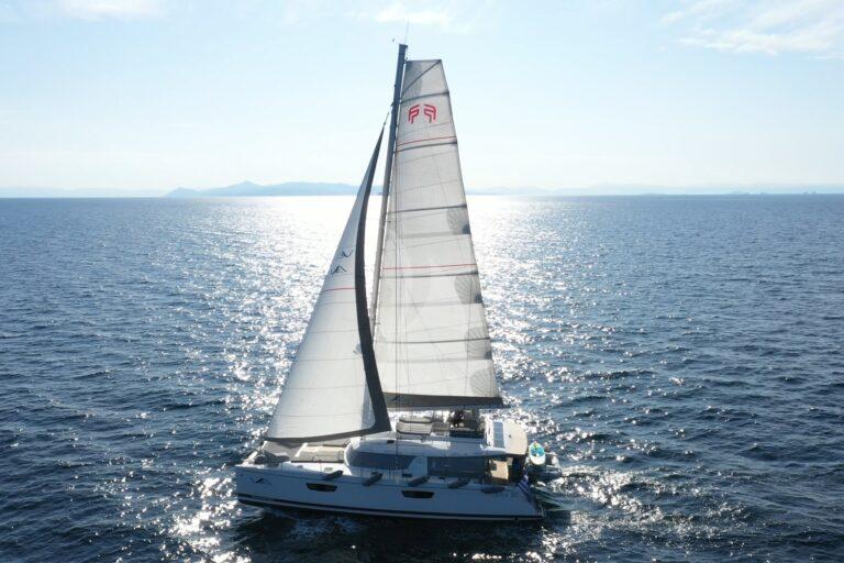 Luxury Yacht SEA ENERGY V - sailing