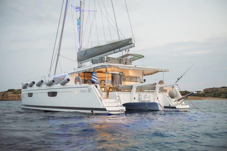 Luxury Yacht SEA ENERGY V - aft deck