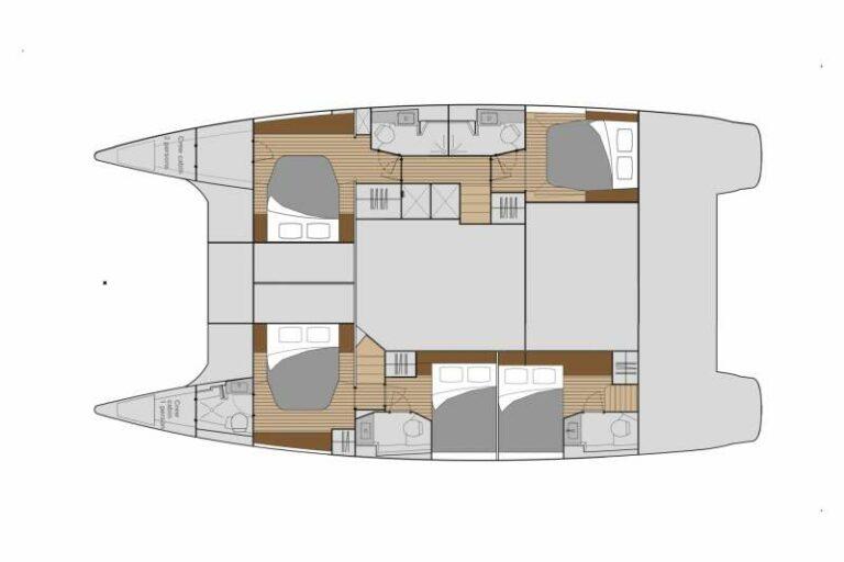 Luxury Yacht SEA ENERGY V - general arrangement