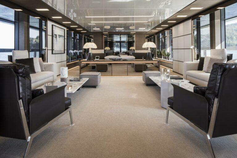Saloon SEVEN SINS interior design San Lorenzo 52 modern style