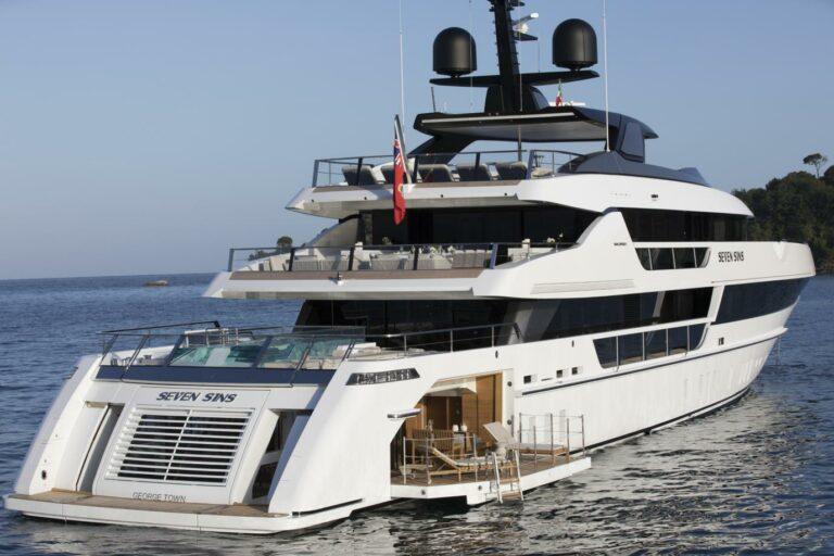 San Lorenzo 52M SEVEN SINS new for charter cruising in Meditarranean or Caribbean