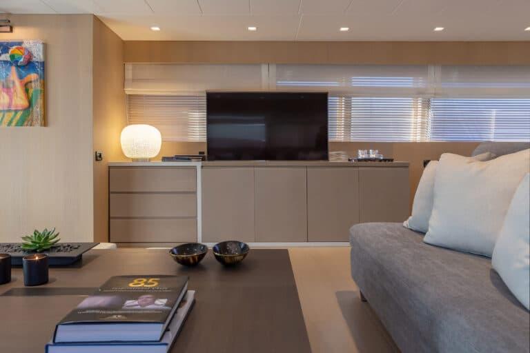 Luxury Motor Yacht SUMMER FUN interior