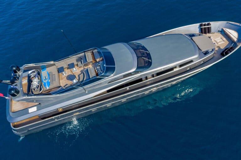 Luxury Motor Yacht SUMMER FUN Bird View