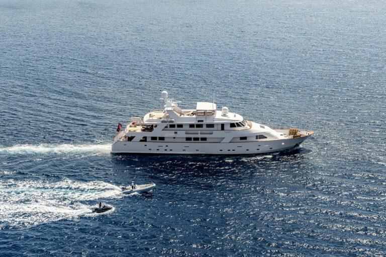 Luxury Motor Yacht SUPERFUN Sailing with tender and jetski