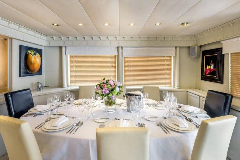 Luxury Motor Yacht SUPERFUN Fine Dining