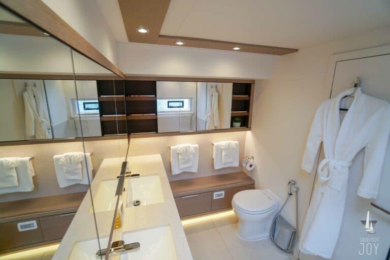Sailing Yacht JOY - Lagoon 77 - Cabin Master