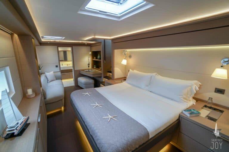 Sailing Yacht JOY - Lagoon 77 - Master Cabin