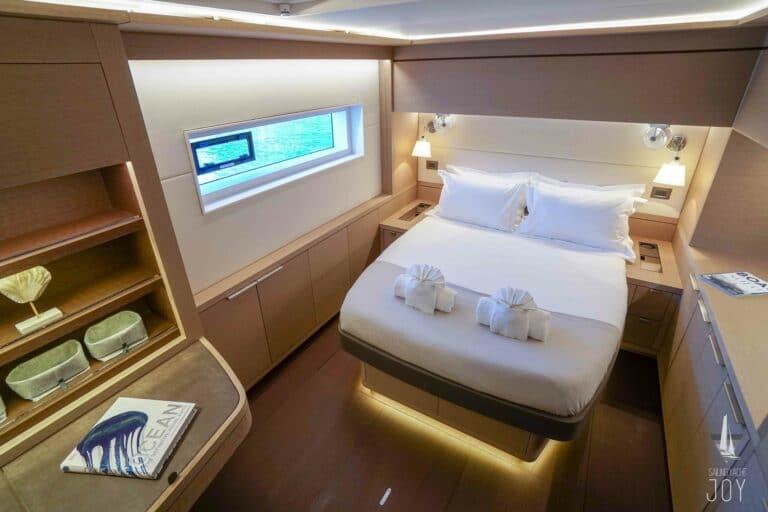 Sailing Yacht JOY - Lagoon 77 - Queen Cabin