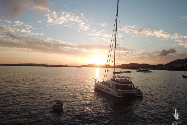 Sailing Yacht JOY - Lagoon 77 - Drone