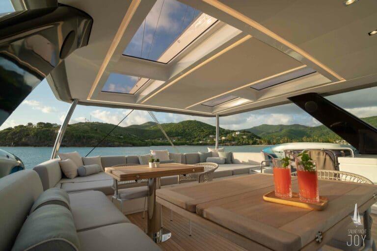 Sailing Yacht JOY - Lagoon 77 - Flybridge