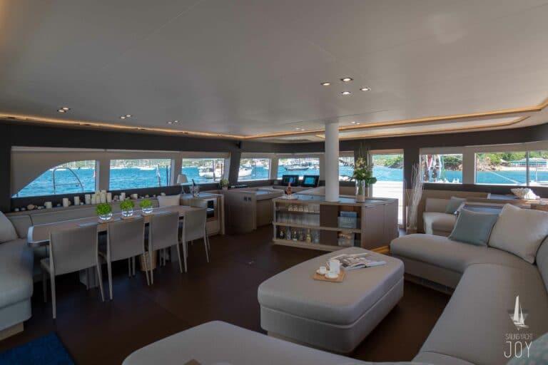 Sailing Yacht JOY - Lagoon 77 - Saloon