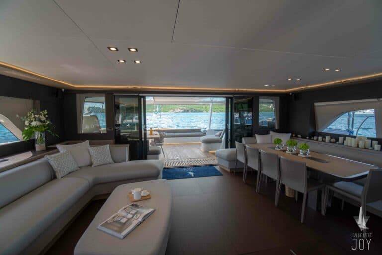 Sailing Yacht JOY - Lagoon 77 - Saloon 2
