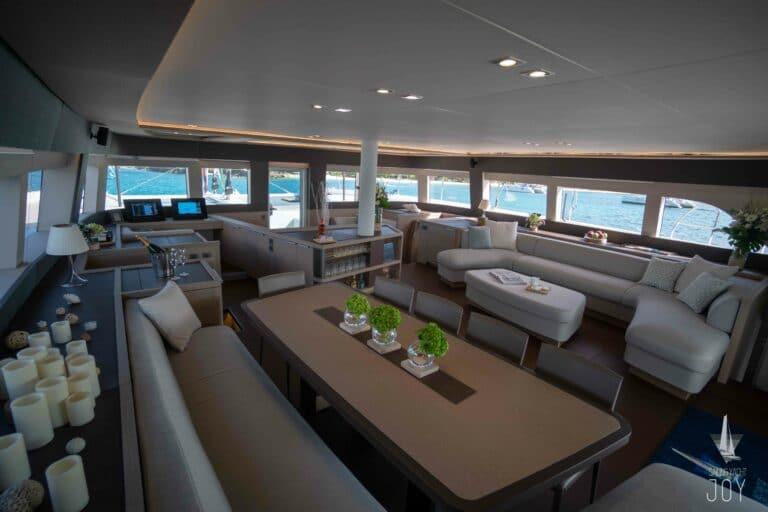 Sailing Yacht JOY - Lagoon 77 - Saloon 3