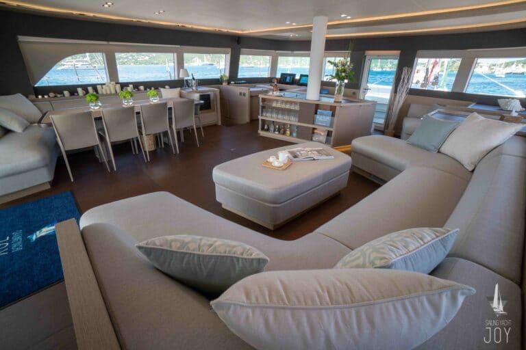 Sailing Yacht JOY - Lagoon 77 - Saloon 4