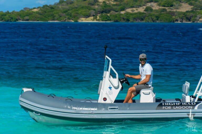 Sailing Yacht JOY - Lagoon 77 - Saloon 4Sailing Yacht JOY - Lagoon 77 - Wakeboard