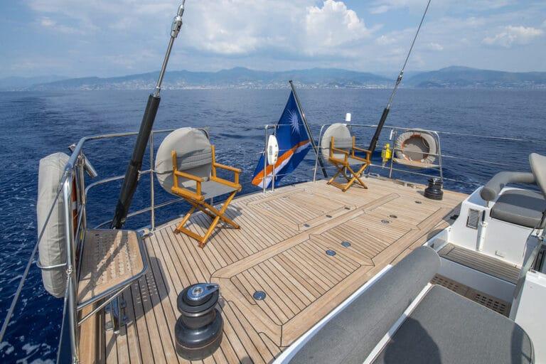 Sailing Yacht LADY 8 - Aft Deck