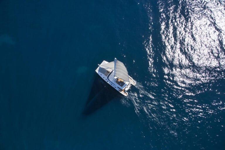 Luxury Catamaran LEVANTE - Drone
