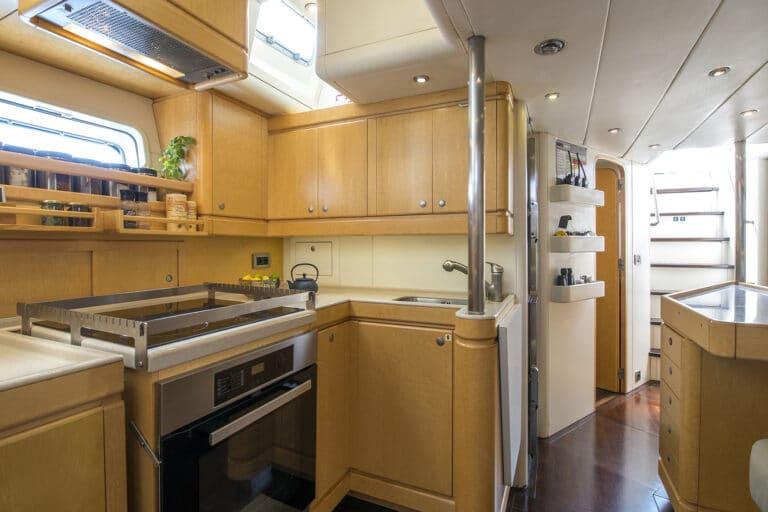 Luxury Yacht LADY 8 - Galley