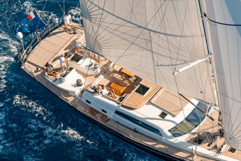 Sailing Yacht GRAND BLEU VINTAGE - sailing