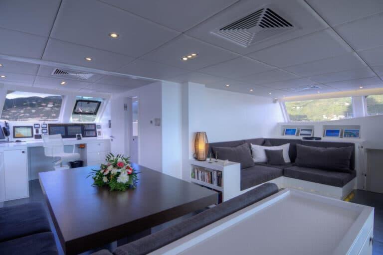 Luxury Catamaran LEVANTE - Dining