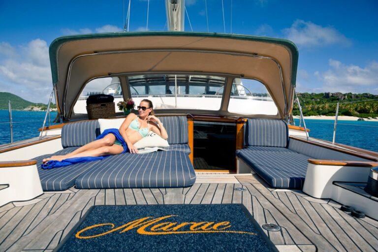 Luxury Sailing Yacht MARAE - Sun deck