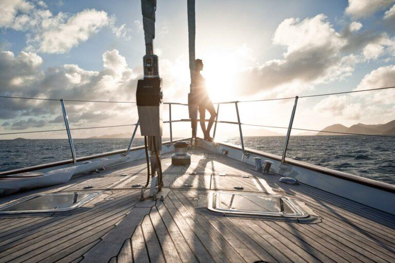 Luxury Sailing Yacht MARAE - Sunset