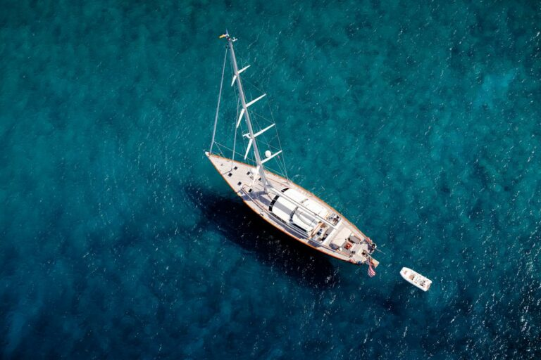 Luxury Sailing Yacht MARAE - drone