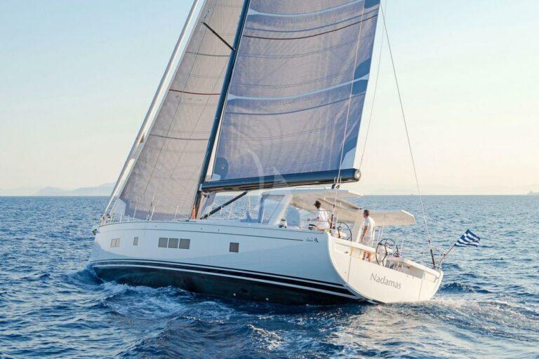 Sailing Yacht NADAMAS in action