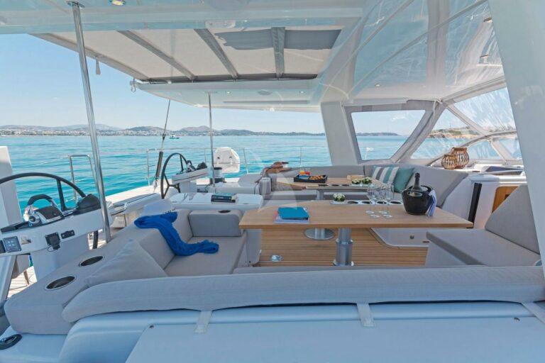 Luxury Sailing Yacht NADAMAS Exterior deck
