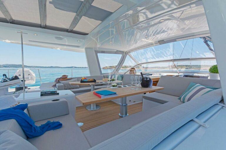 Luxury Sailing Yacht NADAMAS Exterior dining