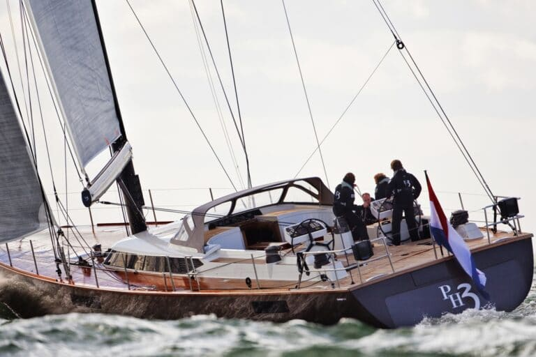 Sailing Yacht PH3 for charter during regattas