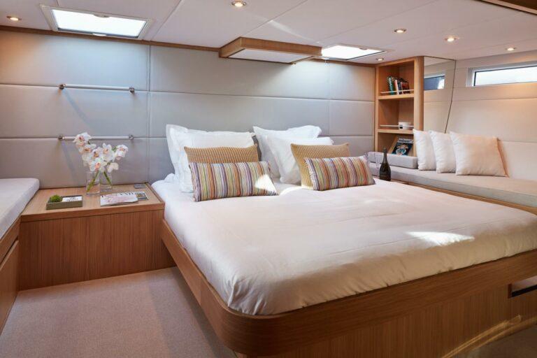 Sailing Yacht PH3 Master cabin