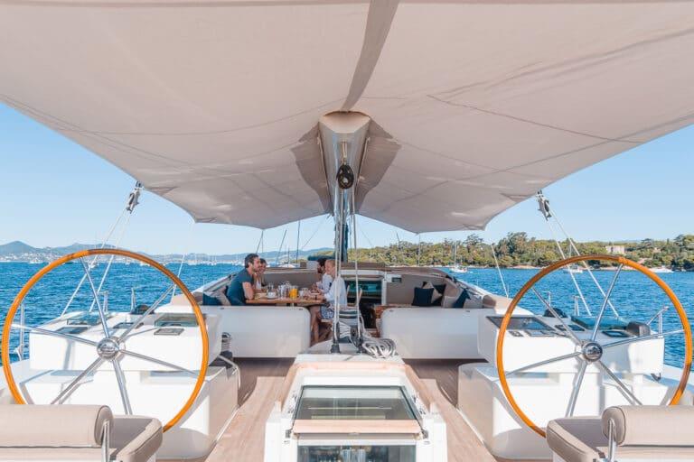 Sailing Yacht GRAND BLEU VINTAGE - Deck