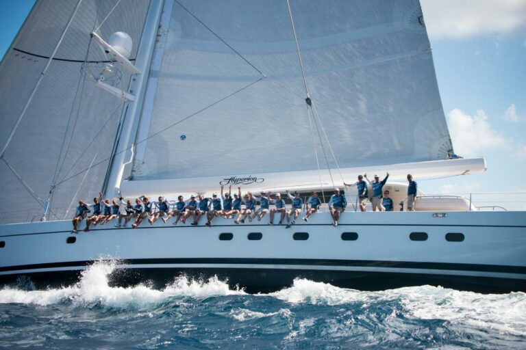 Luxury Sailing Yacht HYPERION - St Barths