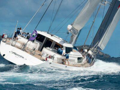Luxury Sailing Yacht HYPERION - St Barths Regatta