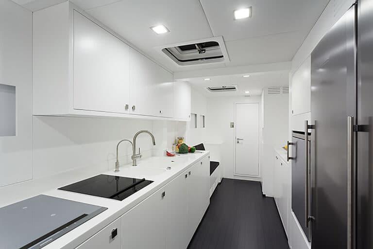 Luxury Catamaran LEVANTE - Galley
