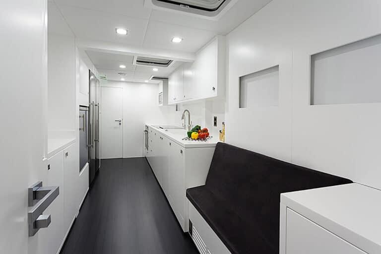 Luxury Catamaran LEVANTE - Kitchen
