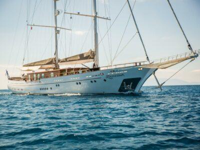 luxury gulet styled yacht in Turkey Bodrum for charter