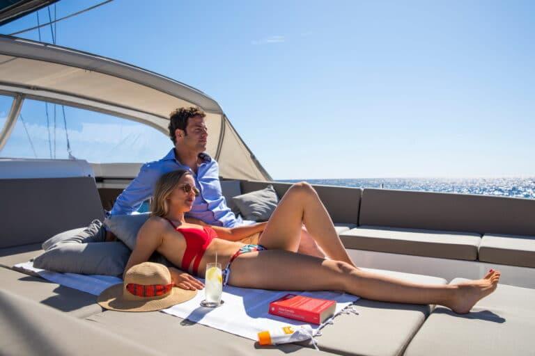 Luxury Yacht Allegro - Sun deck