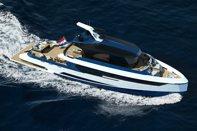 Diana Yacht Design and EXMAR Yachting unveil new Hydrogen Superyacht Concept: BLUE ANGEL