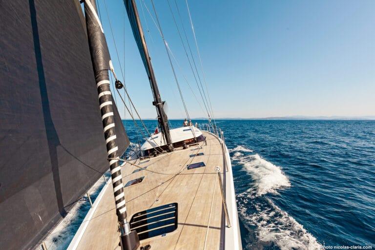 Spark - Luxury Sailing yacht - Sailing