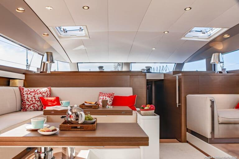 Spark - Luxury Sailing yacht - Saloon 2