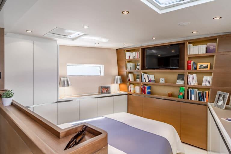 Spark - Luxury Sailing yacht - Master Cabin